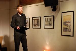 Speech at Magazyn Kultury Kolanko No.6 in Cracow
